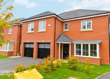 Thumbnail 5 bed detached house for sale in Burgess Grove, Alsager, Stoke-On-Trent, Cheshire