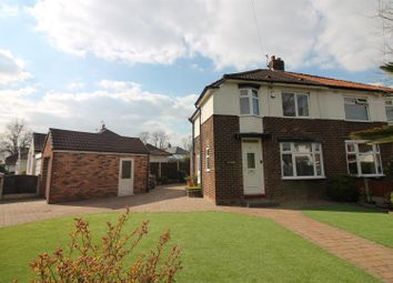Thumbnail 2 bed semi-detached house for sale in Porlock Road, Urmston, Manchester