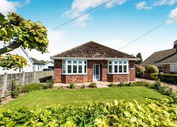 Thumbnail 3 bed detached bungalow for sale in Littlemoor Lane, Sibsey, Boston