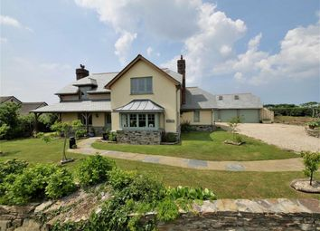 Thumbnail 3 bed detached house for sale in Tiscott Hill, Stibb Road, Bude, Cornwall