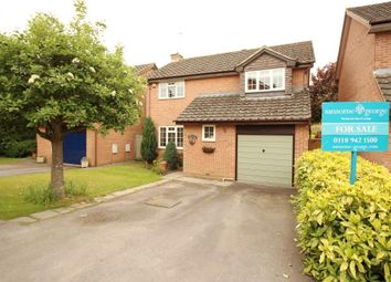 Thumbnail 4 bed detached house for sale in Highworth Way, Tilehurst, Reading