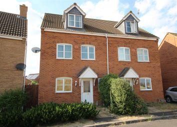Thumbnail 4 bed semi-detached house to rent in Ashville Road, Hampton Hargate, Peterborough