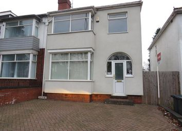 Thumbnail 3 bed property to rent in Hagley Road West, Quinton, Birmingham