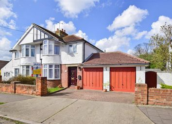Thumbnail 3 bed semi-detached house for sale in St. Swithins Road, Whitstable, Kent