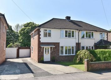 Thumbnail 3 bed semi-detached house for sale in Stocker Close, Basingstoke