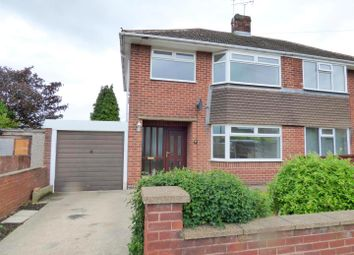 Thumbnail 3 bedroom semi-detached house for sale in Wynndale Drive, Mansfield
