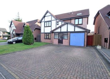 Thumbnail 4 bed detached house to rent in Gunnersbury Way, Nuthall, Nottingham