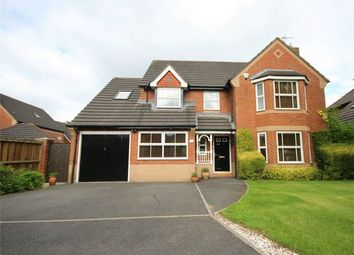 Thumbnail 5 bed detached house for sale in Masefield Drive, Winwick, Warrington