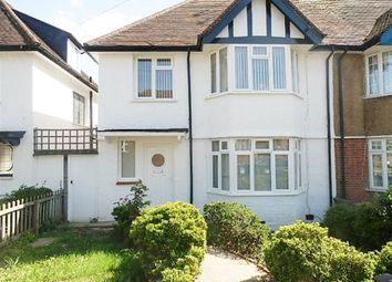 Thumbnail 3 bed semi-detached house to rent in Elm Park Gardens, Hendon, London