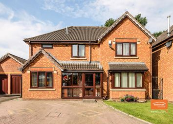 Thumbnail 4 bed detached house for sale in Werneth Grove, Bloxwich, Walsall