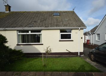 Thumbnail 3 bed semi-detached bungalow for sale in Bankfield Gardens, Walney, Cumbria