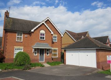 Thumbnail 4 bed detached house for sale in Naseby Avenue, Newark