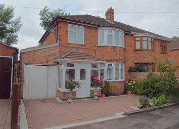 Thumbnail 3 bed semi-detached house for sale in Bradgate Drive, Wigston, Leicester, Leicestershire