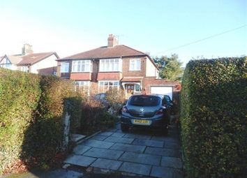Thumbnail 3 bed semi-detached house to rent in Dickens Lane, Poynton, Stockport