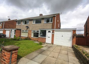 Thumbnail 3 bed semi-detached house for sale in Tunstall Avenue, Billingham