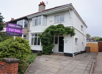 Thumbnail 3 bed semi-detached house for sale in The Wiend, Birkenhead