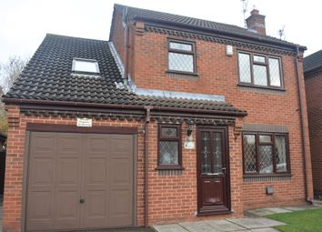 Thumbnail 4 bed detached house for sale in Sheldon Close, Loughborough