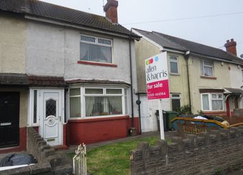 Thumbnail 2 bedroom terraced house for sale in Madoc Road, Tremorfa, Cardiff