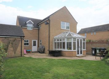 Thumbnail 4 bed detached house for sale in Shackleton Way, Yaxley, Peterborough