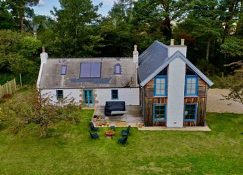 Thumbnail 4 bed detached house for sale in Roadside Cottage, Rafford, Forres