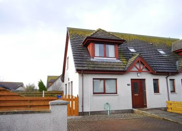 Thumbnail 2 bed semi-detached house for sale in 10A Carnegie Place, Portmahomack, Tain