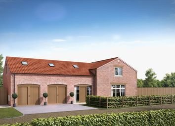 Thumbnail 4 bed detached house for sale in Newsham Barns, Main Street, Holtby, York