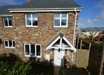 Thumbnail 2 bedroom semi-detached house for sale in Kew Breanek, St. Agnes