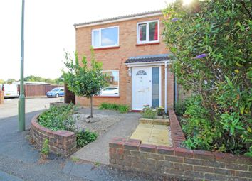 Thumbnail End terrace house for sale in Oldbury Road, Chertsey, Surrey