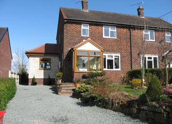 Thumbnail 3 bed semi-detached house for sale in Wood Street, Mow Cop, Stoke-On-Trent