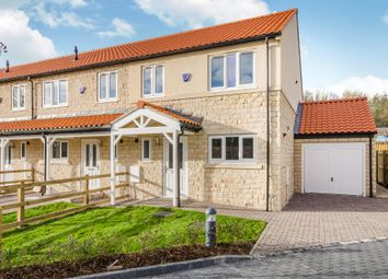 Thumbnail 3 bed town house for sale in Plot 6. Abbeystone Way, Monk Fryston, Leeds