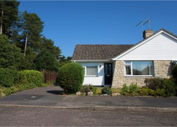 Thumbnail 2 bed semi-detached bungalow for sale in Edgemoor Road, West Moors