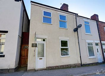 Thumbnail 3 bedroom end terrace house to rent in Station Road, North Wingfield, Chesterfield, Derbyshire