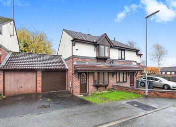 Thumbnail 2 bedroom semi-detached house for sale in Hackleton Close, Manchester