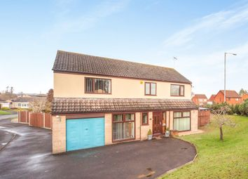 Thumbnail 5 bedroom detached house for sale in Waterfield Close, Bishops Hull, Taunton