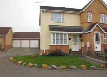 Thumbnail 2 bed semi-detached house to rent in Horsham Close, Haverhill