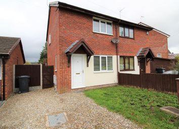 Thumbnail 2 bed semi-detached house for sale in Smelt Road, Coedpoeth, Wrexham