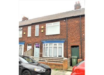 Thumbnail 2 bed terraced house for sale in Wensleydale Street, Hartlepool