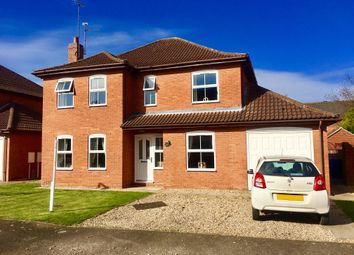 Thumbnail 4 bedroom detached house for sale in Thorne Way, Kirton, Boston