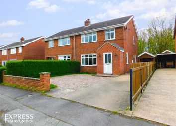 Thumbnail 3 bed semi-detached house for sale in Casswell Crescent, Fulstow, Louth, Lincolnshire