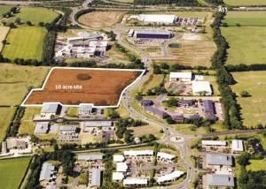 Thumbnail Land for sale in Plot 3, Phase 8, St Asaph Business Park, St Asaph