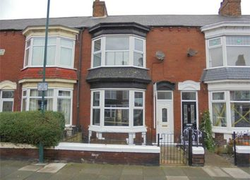 Thumbnail 4 bed terraced house for sale in Lumley Road, Redcar, North Yorkshire
