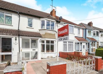 Thumbnail 3 bed terraced house for sale in Grosvenor Street, Wolverhampton