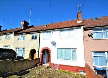 Thumbnail 3 bed terraced house for sale in Selsdon Road, Neasden, London