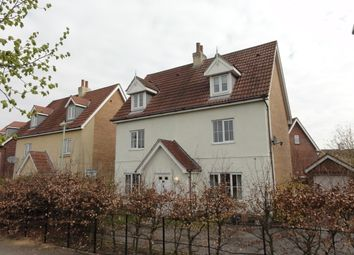 Thumbnail 5 bed detached house to rent in Kingfisher Road, Bury St. Edmunds