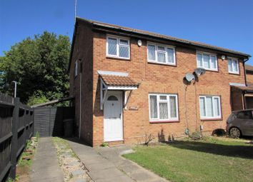 Thumbnail 3 bed end terrace house to rent in Glenfield Road, Luton