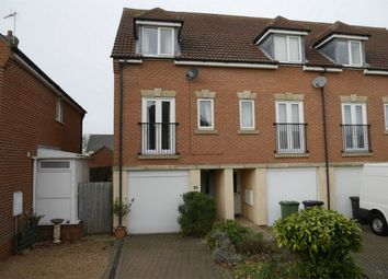 Thumbnail 3 bed end terrace house for sale in Rosemary Way, Downham Market