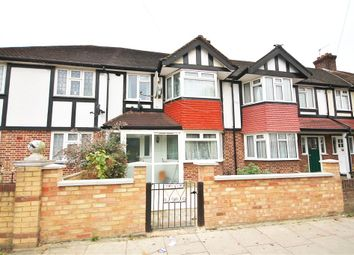 Thumbnail 4 bed terraced house for sale in Wide Way, Mitcham, Surrey