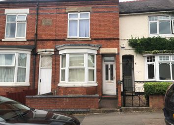 Thumbnail 2 bed terraced house to rent in Stoughton Road, Oadby, Leicester