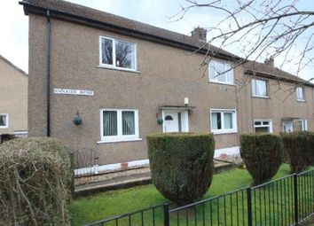 Thumbnail 2 bed flat for sale in Knockside Avenue, Paisley, Renfrewshire