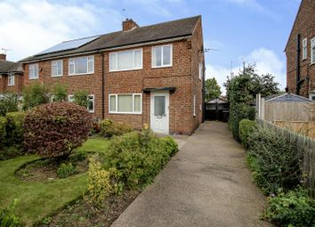 Thumbnail 3 bedroom semi-detached house for sale in Haddon Crescent, Beeston, Nottingham